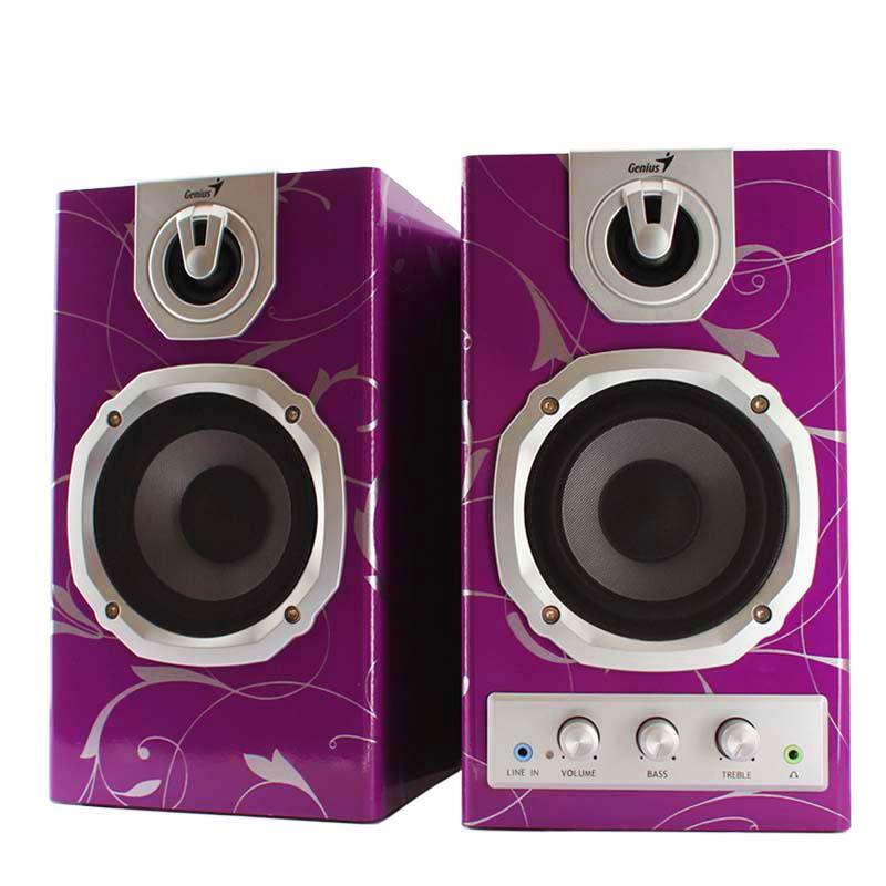 Enceinte violet d'argent 1